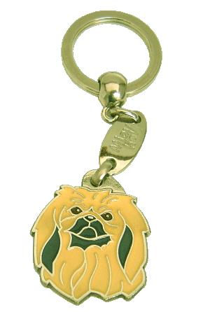 PEKINGESE - pet ID tag, dog ID tags, pet tags, personalized pet tags MjavHov - engraved pet tags online